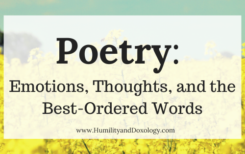 National Poetry Month Homeschool Resources