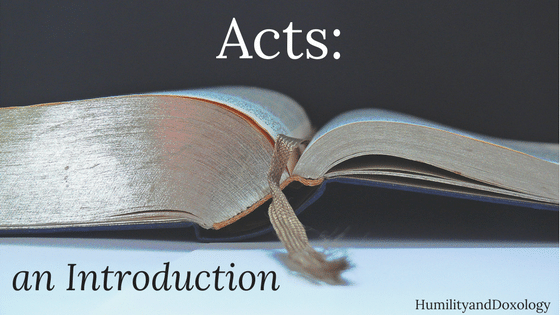 Acts Biblestudy Introduction