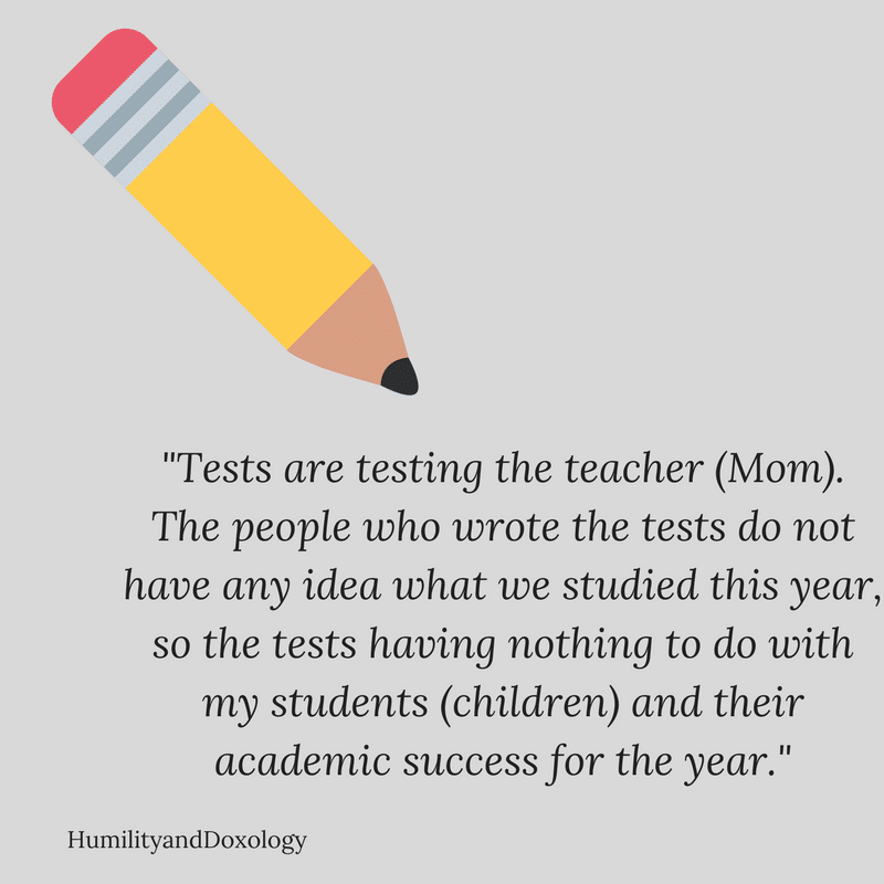 Standardized Tests for Homeschool