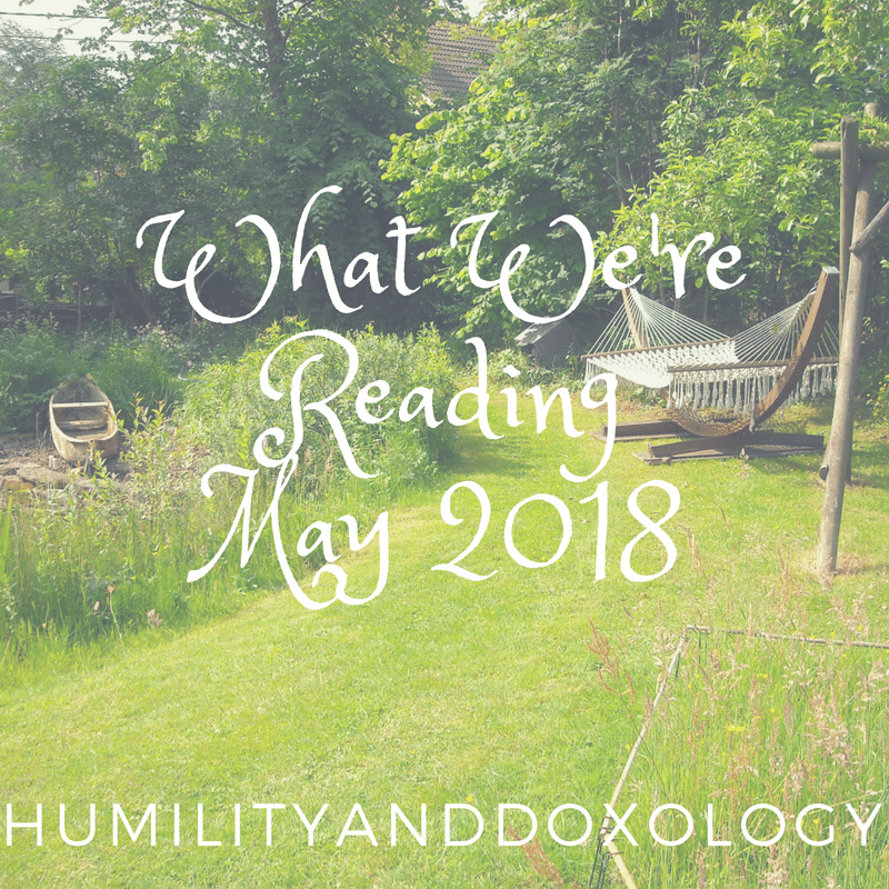 booklist reading May 2018 Mom, teens, younger kids, and family reading in May