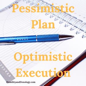 Pessimistic Plan Optimistic Execution