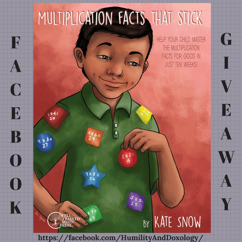 Multiplication Facts that Stick Giveaway Homeschool Math Help Facebook
