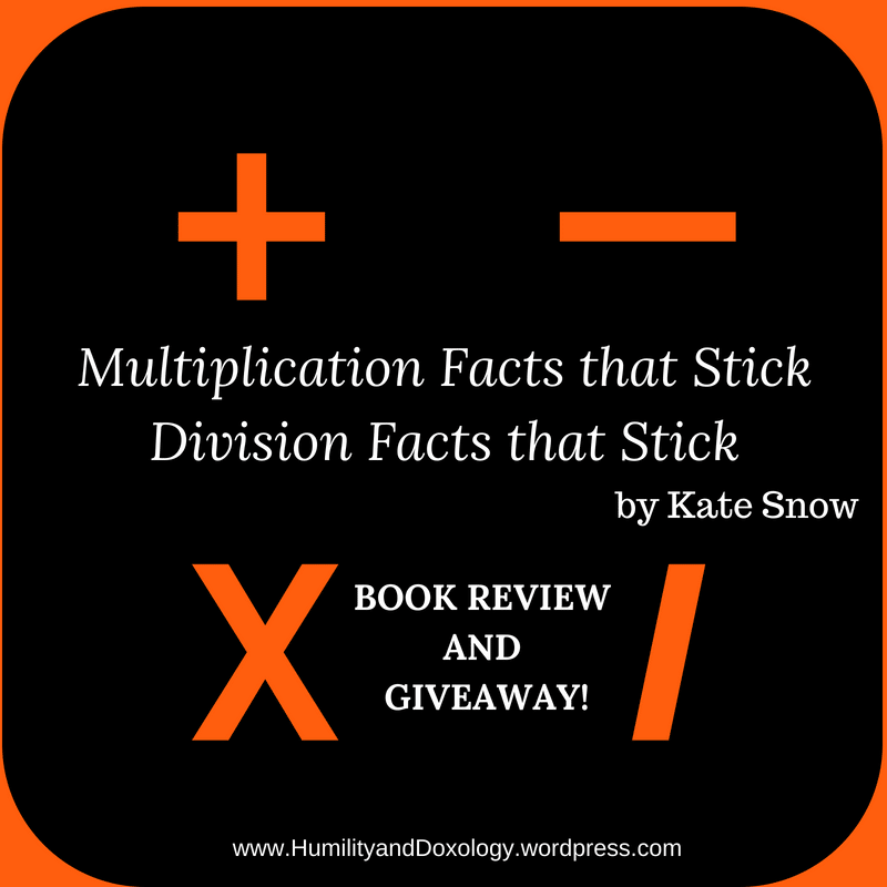 Multiplication and Division Facts that Stick Review and Giveaway Homeschool Math Help