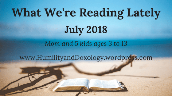 Books reading Humility and Doxology summer July 2018