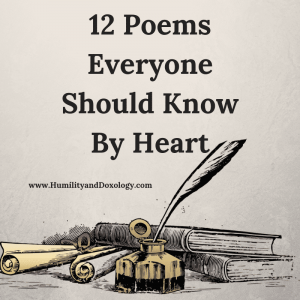 Poems Everyone Should Know