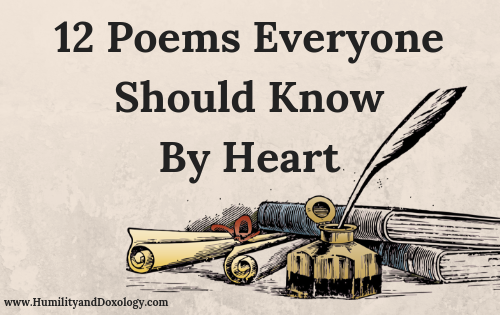 12 Poems Everyone Should Know