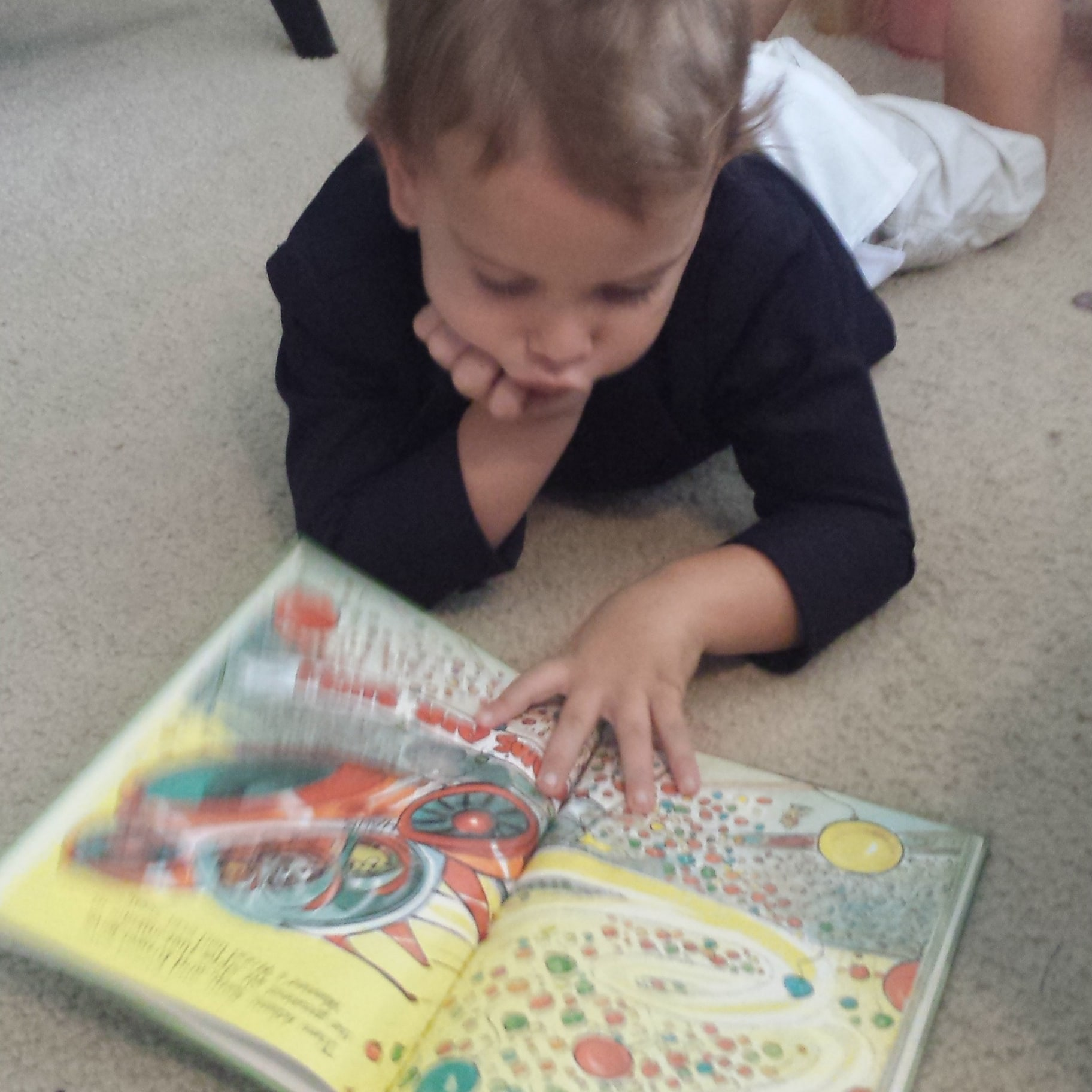 Homeschool Preschool Reading Humility and Doxology