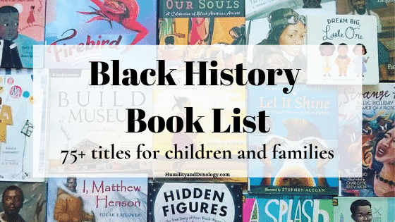 Black history homeschool picture books