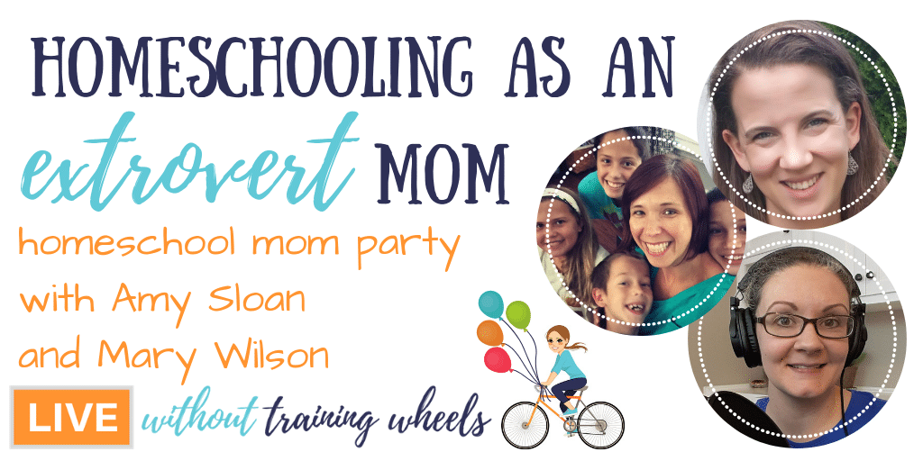 Homeschooling Extrovert Mom Party
