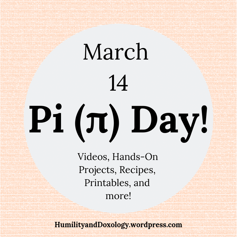 Pi Day Resource Round up Homeschool Hands On Math and Printables