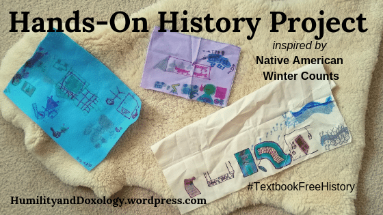 Hands-On History Winter Count Project, Native American History, History Art, Textbook Free History, Homeschool History, American HIstory