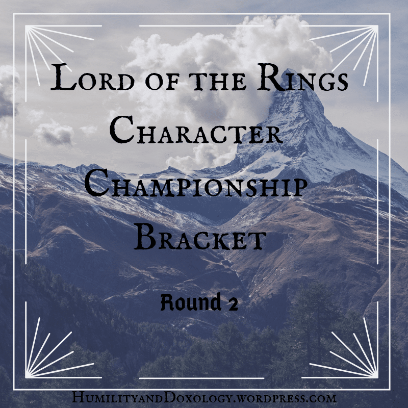Homeschool, Literary Bracket, Lord of the Rings, Round 2