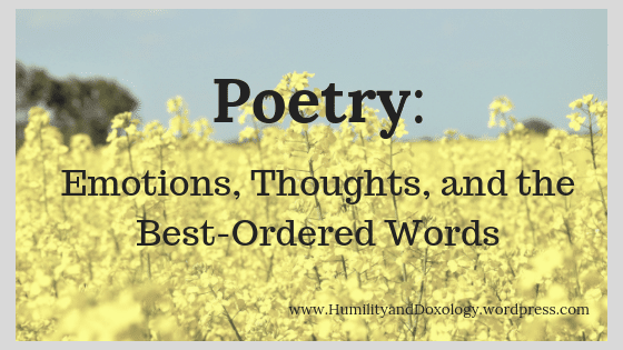 Homeschool Poetry, Poetry for Children, Introduction to Poetry, National Poetry Month