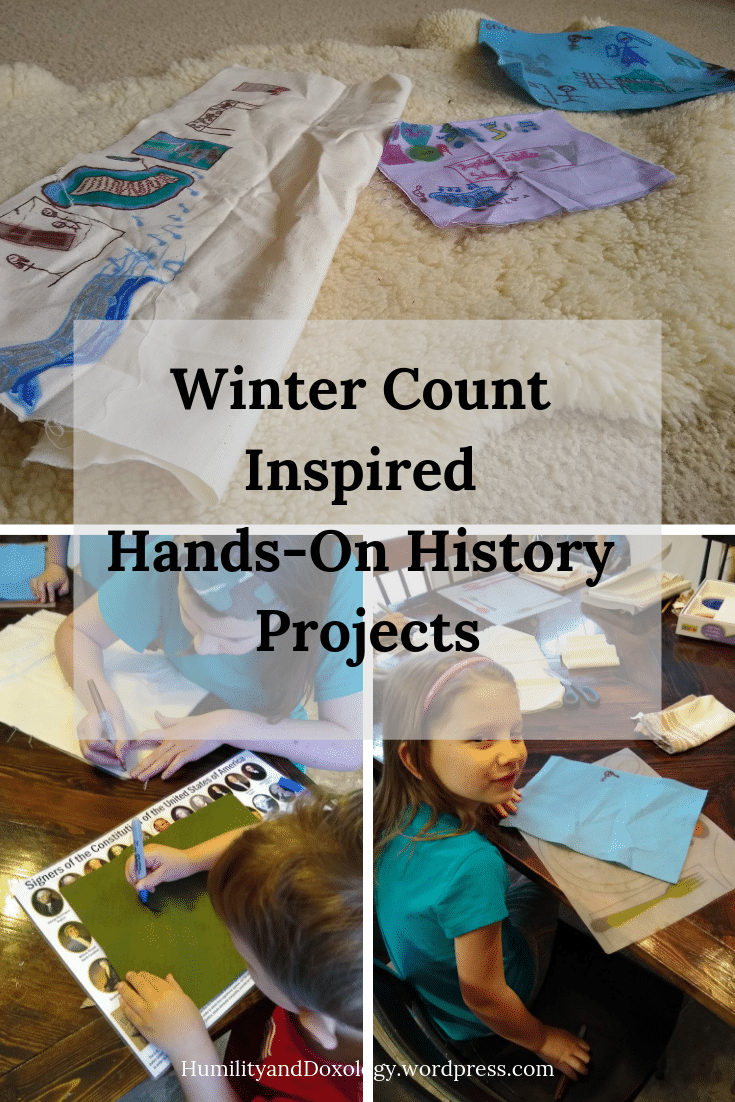 Winter Count Hands On History and Art Project, Homeschool, Textbook-Free History, Native American History