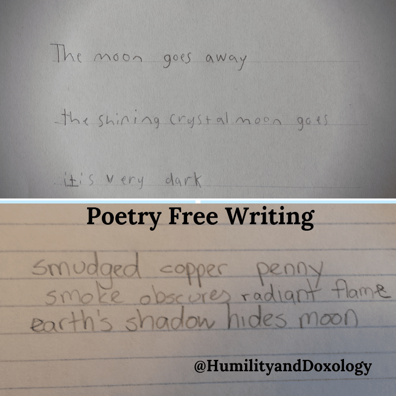Poetry Free Writing Haiku