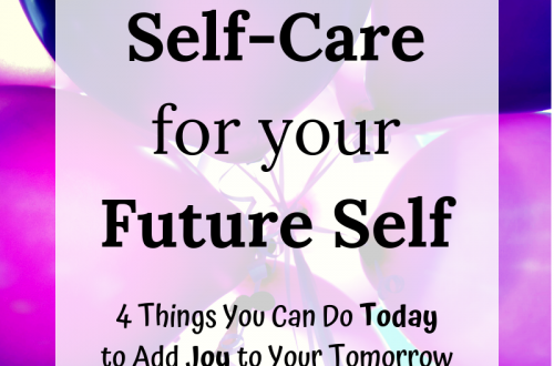 Self-Care for your Future Self