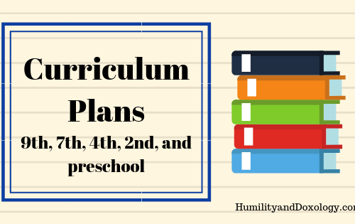 homeschool curriculum plans