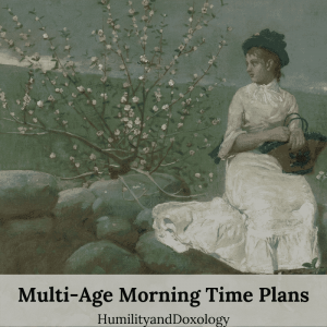 multi-age morning time fall 2019