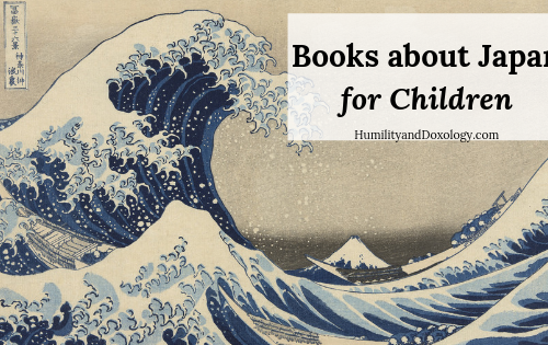 Books to learn about Japan with kids
