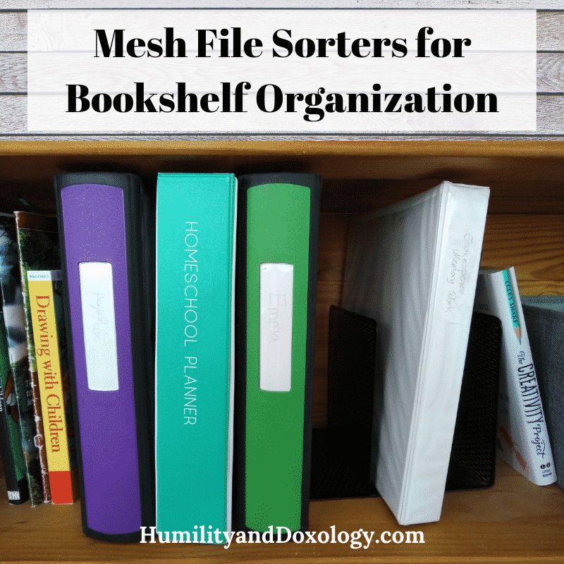 File Sorters for Bookshelf Organization