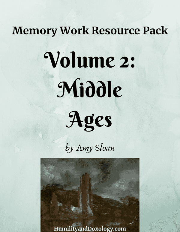 Middle Ages Memory Work