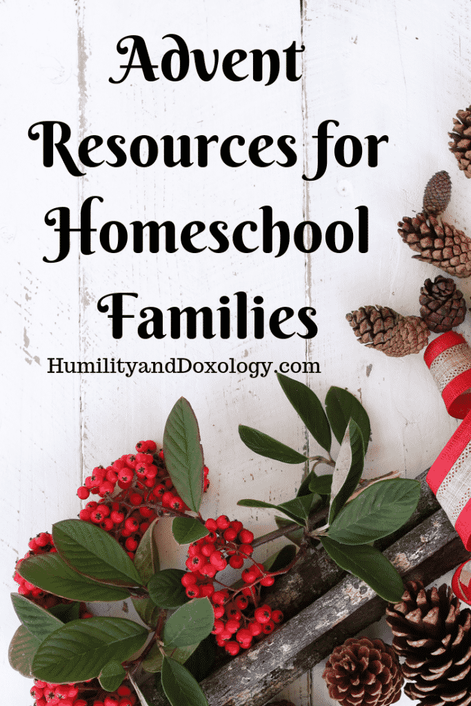 Advent for Homeschool