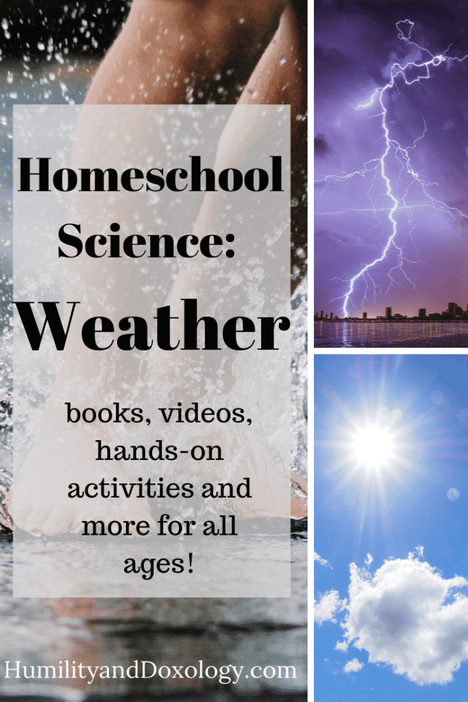 hands-on homeschool science: weather