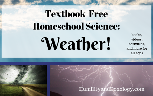Homeschool Science Weather