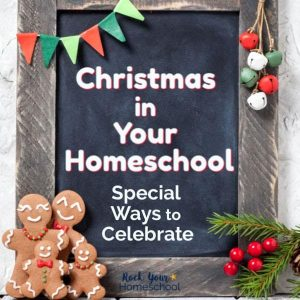 Christmas in Homeschool