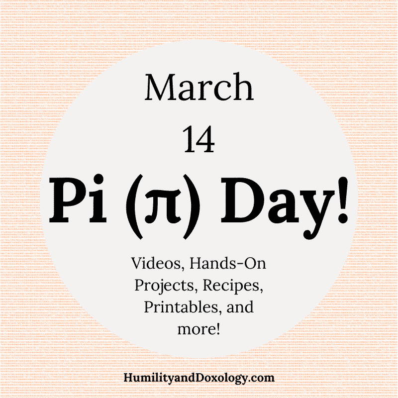 Pi Day Homeschool