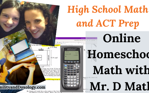 High School Math and ACT Prep Mr. D Math