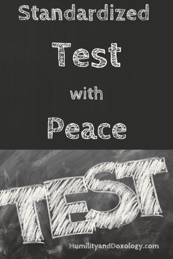 Standardized Test with Peace