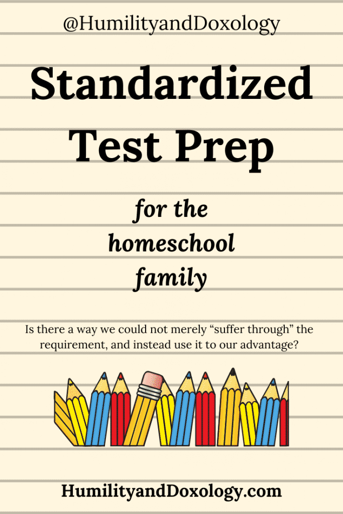 Standardized Test Prep for Homeschool