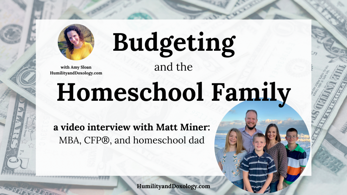 Budgeting Homeschool Family