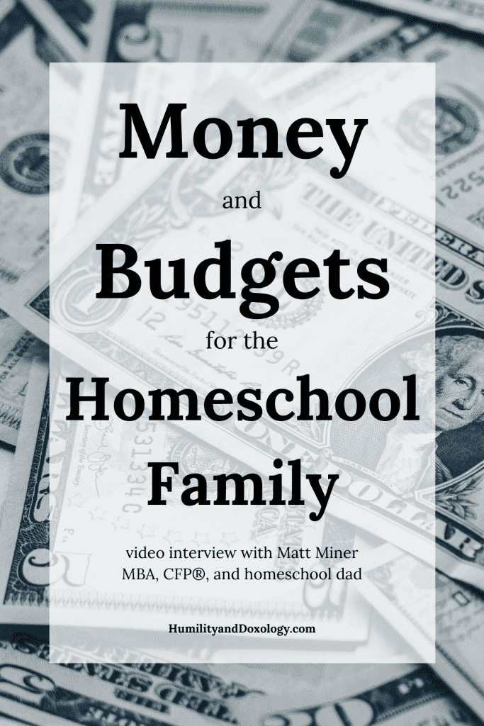 Budgeting for the Homeschool Family