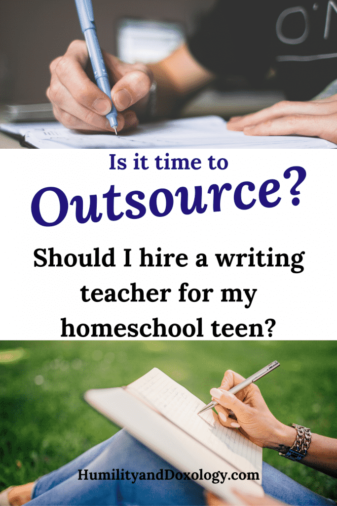 Outsourcing Homeschool Writing