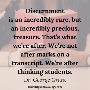 discernment in education