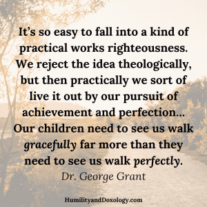 George Grant repentance discipleship Christian classical education