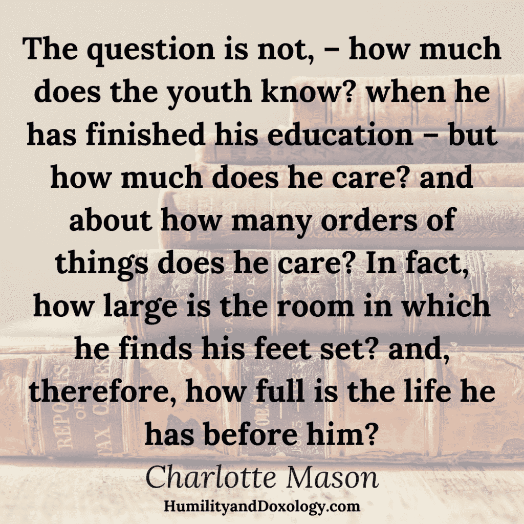 Charlotte Mason Education