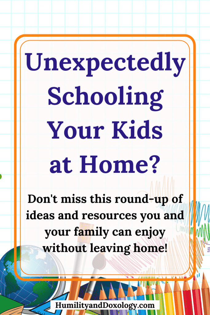 Unexpectedly schooling your kids at home: resource round up