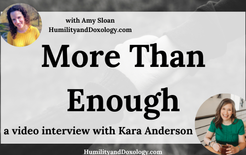 Kara Anderson More Than Enough
