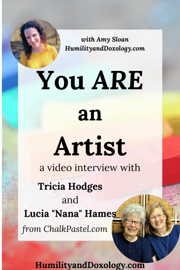 ChalkPastel Homeschool Art Tricia Nana Video Interview