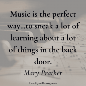 Music Appreciation Homeschool Mary Prather