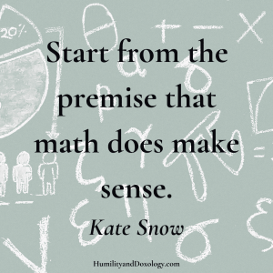 Kate Snow interview Homeschool Math Help
