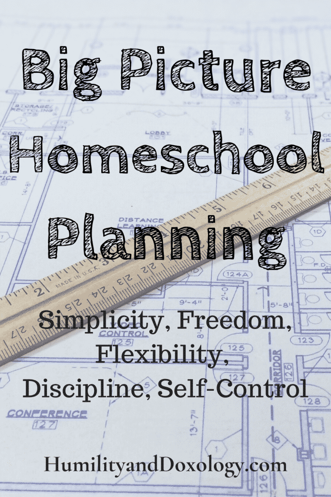 How to make an Easy Homeschool Plan