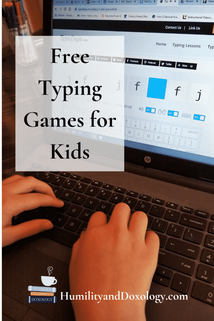 free typing lessons for kids