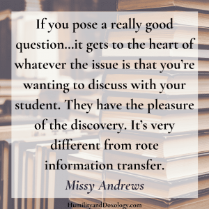 Missy Andrews Center for Lit Interview