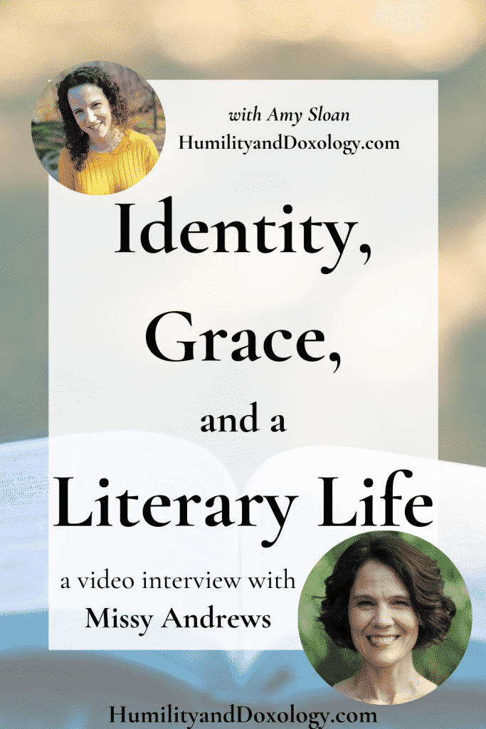 Video interview Homeschool Conversations Missy Andrews from Center for Lit