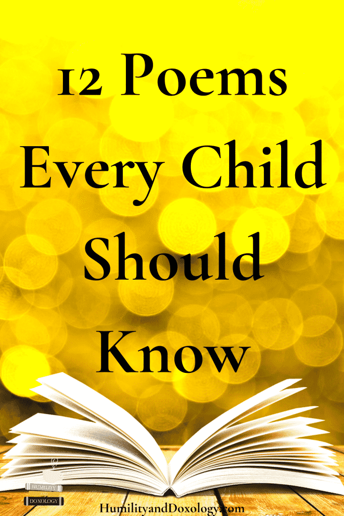 12 best poems to memorize