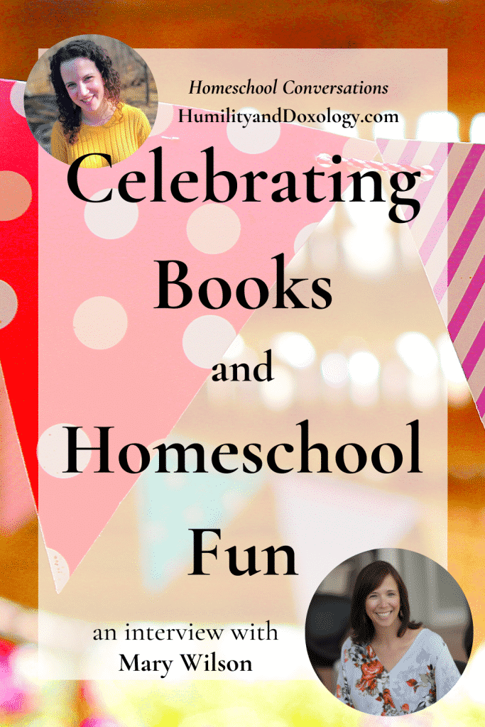 homeschool book club Mary Wilson